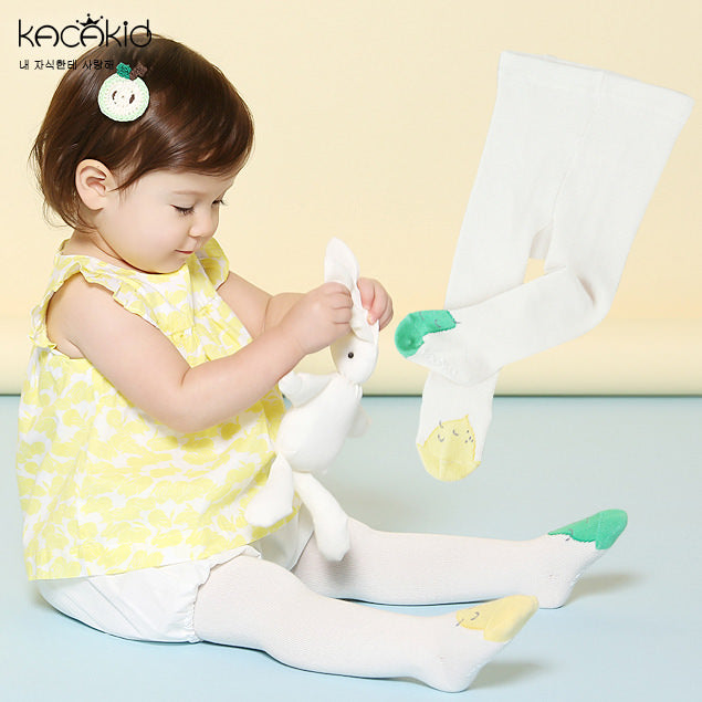 Kacakid Lemon & Pear Baby Leggings - BabyLand.my