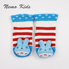 Load image into Gallery viewer, Nemokids 3D Anti-Slip Baby Socks (Blue Baby Totoro) - BabyLand.my