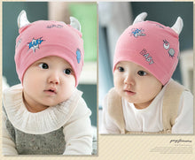 Load image into Gallery viewer, GZMM Big Eyes Devil Baby Beanie Hat - BabyLand.my