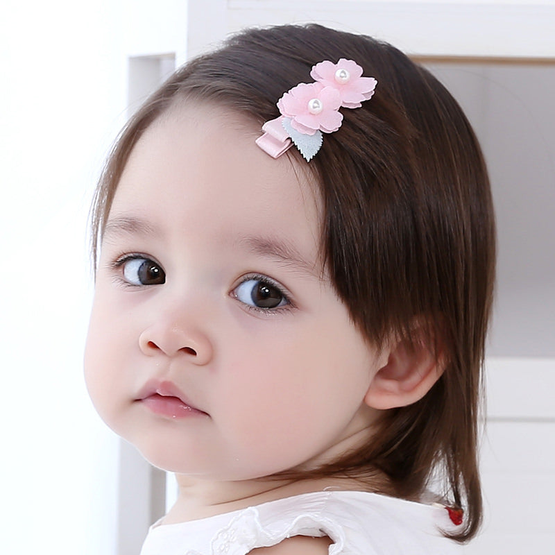 Angel Neitiri 2-Flowers Spring Hair Clip - BabyLand.my