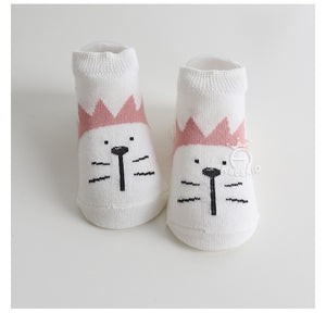 Kacakid Cartoons' Facial Expressions Socks (3 colors) - BabyLand.my
