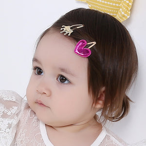 Angel Neitiri Gold Crown VS Pink Heart Hair Clip - BabyLand.my
