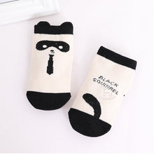 Load image into Gallery viewer, Kacakid Graphics Socks (Black Squirrel) - BabyLand.my