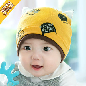 GZMM Cheerful Kitten Beanie Hat (3 colors) - BabyLand.my
