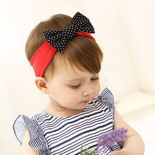 Load image into Gallery viewer, Black Bow-Knot In Red Headband - BabyLand.my