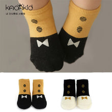 Load image into Gallery viewer, Kacakid Baby Color Stitching Socks - BabyLand.my