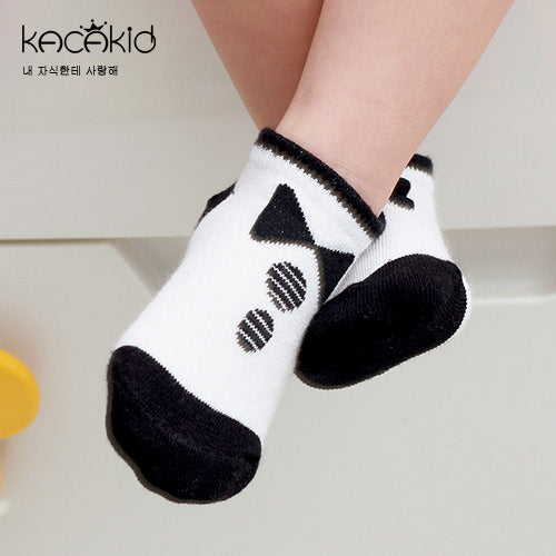 Kacakid Bow Ties Style Tube Socks (Short) - BabyLand.my