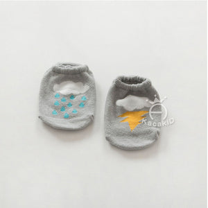 Kacakid AB Boat Socks (Thunder Cloud) - BabyLand.my