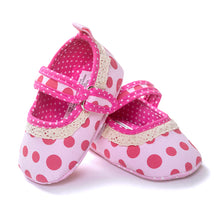 Load image into Gallery viewer, Lovely Red Polka-Dots Pre-Walker Shoe - BabyLand.my