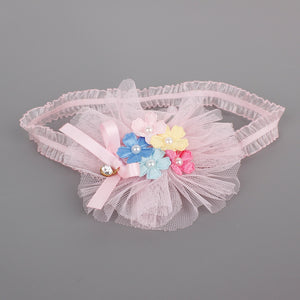 Five Colors Flower Headband - BabyLand.my