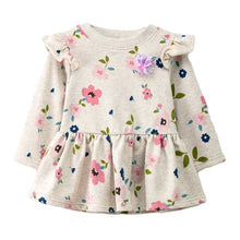 Load image into Gallery viewer, SIMYKE Colorful Floral Dress - BabyLand.my