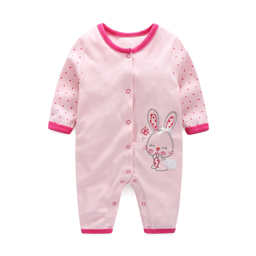 First Movements Lovely Smiley Bunny Romper - BabyLand.my