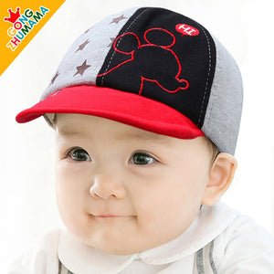 GZMM HI Mouse Baby Cap (Red) - BabyLand.my