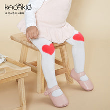 Load image into Gallery viewer, Kacakid Love Knee Patches Baby Leggings (2 Colors) - BabyLand.my