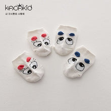 Load image into Gallery viewer, Kacakid Big Rolling Eyes & 3D Ears Boat Socks - BabyLand.my