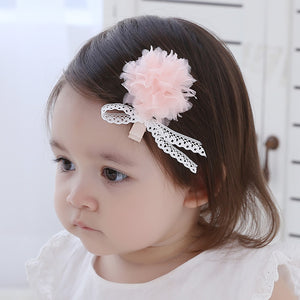 Angel Neitiri Elegant Tulle Flower Hair Clip - BabyLand.my