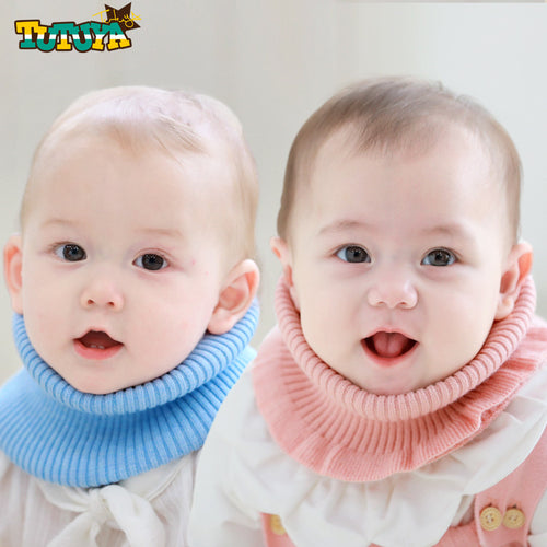 Tutuya Classic Crochet Neck Warmer (2 Colors) - BabyLand.my