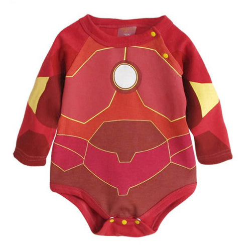 Augelute Cartoon Characters Bodysuit (Iron Man) - BabyLand.my