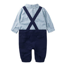 Load image into Gallery viewer, Augelute Gentleman Plaid Romper - BabyLand.my