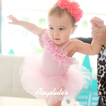 Load image into Gallery viewer, Augelute Gorgeous Princess Fluffy Oblique Sling Dress - BabyLand.my