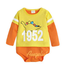 Load image into Gallery viewer, Augelute Long Sleeve Bodysuit (1952 Dinosaur) - BabyLand.my