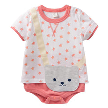 Load image into Gallery viewer, Augelute Stars Vs Little Bear Bodysuit (Pink) - BabyLand.my