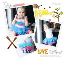 Load image into Gallery viewer, Augelute Stylish Puffy Cupcake Bodysuit Dress - BabyLand.my