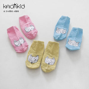 Kacakid Baby Fox Short Socks - BabyLand.my