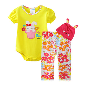 Forest Kingdom Magic Bunny in Hat Pant Set - BabyLand.my