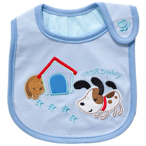 MomsCare Little Buddy Doggies Bib - BabyLand.my
