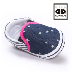 Denim Shining Stars Pre-Walker Shoe - BabyLand.my