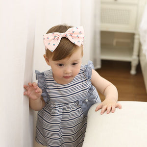 Flowers Printings Bow-Knot Headband - BabyLand.my