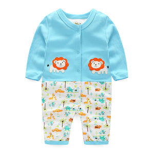 First Movements Twin Lions Romper - BabyLand.my
