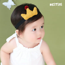 Load image into Gallery viewer, Angel Neitiri Exaggerated Yellow Crown Headband - BabyLand.my