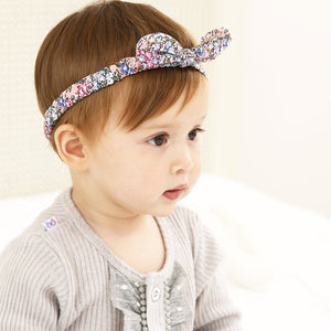 Colorful Tiny Fragrant Flowers Bow-Knot Headband - BabyLand.my