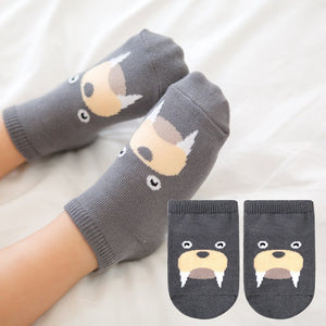 Kacakid Baby Animals Short Socks (Sea Lion) - BabyLand.my