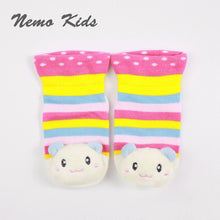 Load image into Gallery viewer, Nemokids 3D Anti-Slip Baby Socks (Baby Bear) - BabyLand.my