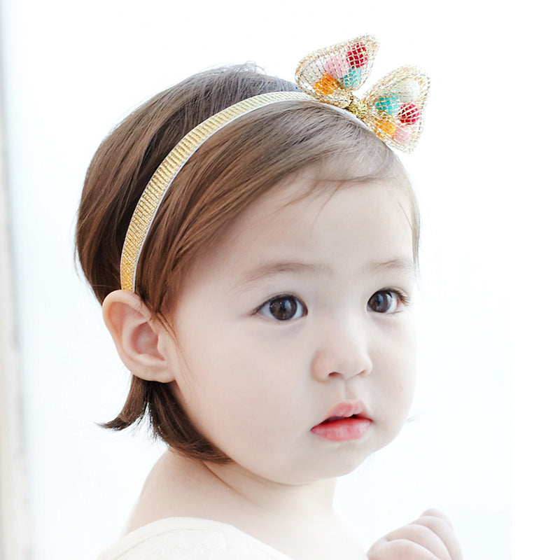 Angel Neitiri Colors Furry Balls Headband - BabyLand.my