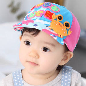 Good Luck Crab Baby Cap - BabyLand.my