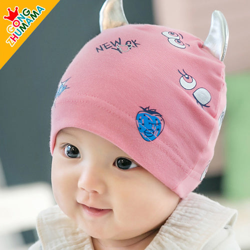 GZMM Big Eyes Devil Baby Beanie Hat - BabyLand.my