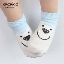 Load image into Gallery viewer, Kacakid Cartoons' Facial Expressions Socks (3 colors) - BabyLand.my