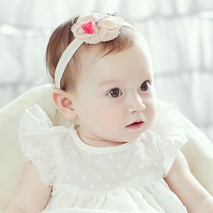 Angel Neitiri Linen Flower Headband - BabyLand.my