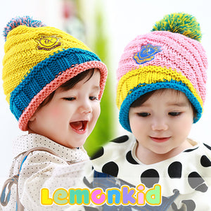 Lemonkid Cute and Colorful Knit Caps - BabyLand.my