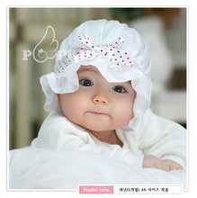 Load image into Gallery viewer, Little Laura Lace Baby Bonnet Hat - BabyLand.my
