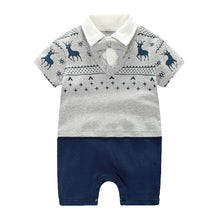 Load image into Gallery viewer, Little Deer Collar Romper - BabyLand.my
