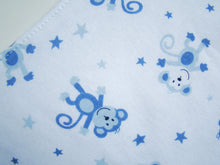 Load image into Gallery viewer, MomsCare Triangular Series Teething Bibs (Monkey Stars) - BabyLand.my