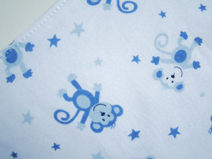 MomsCare Triangular Series Teething Bibs (Monkey Stars) - BabyLand.my