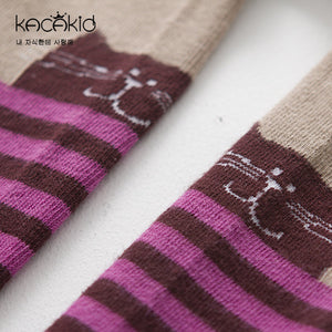 Kacakid Graphics vs Stripes Leggings (2 Colors) - BabyLand.my