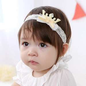 Angel Neitiri Crown Lace Headband (4 colors) - BabyLand.my