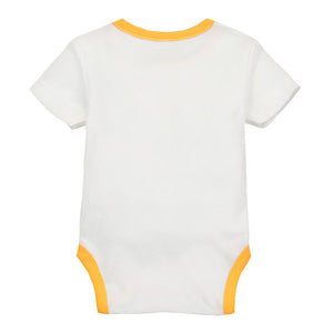 MomsCare Summer Short Bodysuit (Elephant's 9 Grids Friends) - BabyLand.my